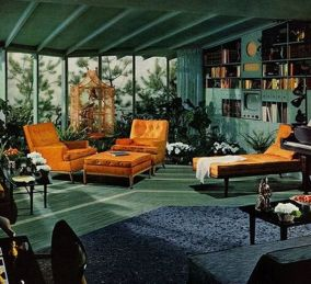 Adorable burnt orange and teal living room ideas 41