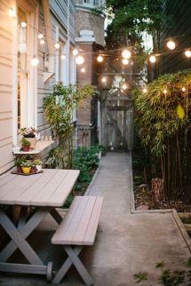 Adorable small patio garden design ideas 08