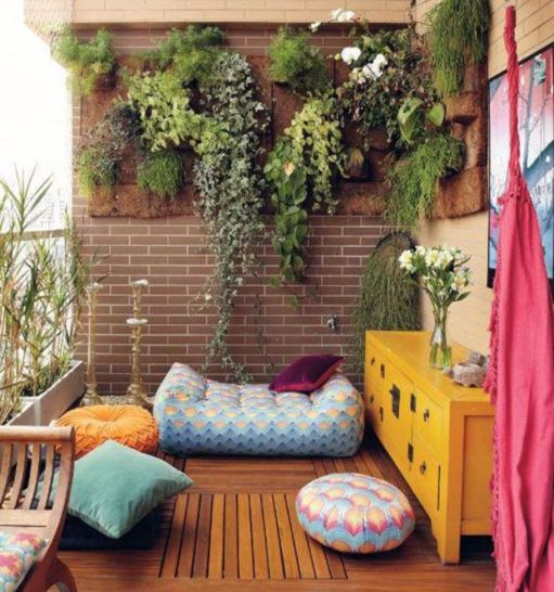 Adorable small patio garden design ideas 12