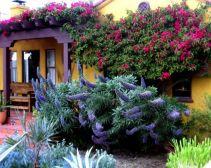 Adorable small patio garden design ideas 13