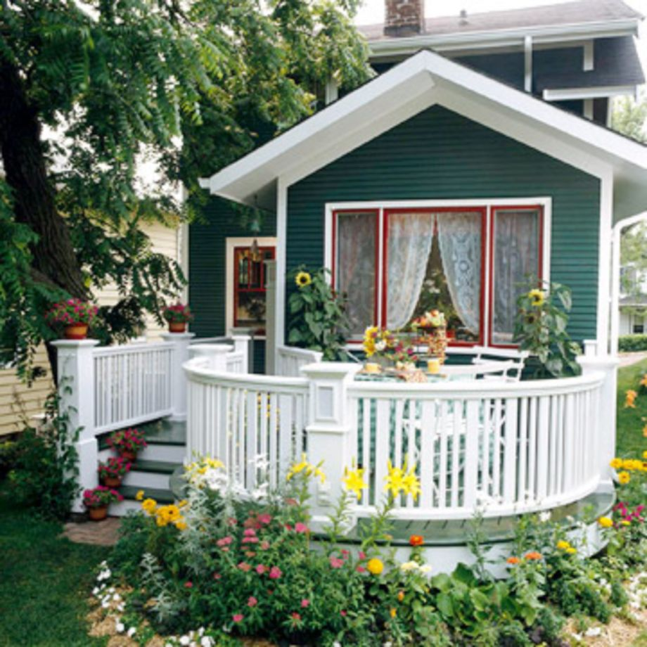 40 Adorable Small Patio Garden Design Ideas Roundecor