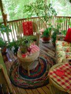 Adorable small patio garden design ideas 25