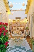Adorable small patio garden design ideas 28