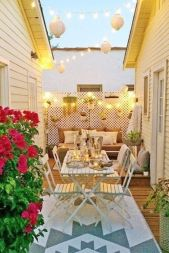 Adorable small patio garden design ideas 28