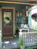 Adorable small patio garden design ideas 40