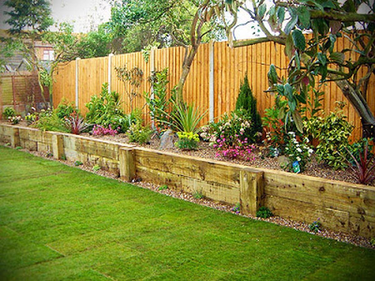 Affordable backyard vegetable garden designs ideas 34