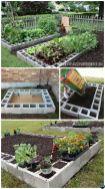 Affordable backyard vegetable garden designs ideas 37