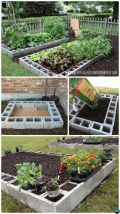 Affordable backyard vegetable garden designs ideas 37