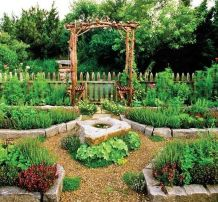 Affordable backyard vegetable garden designs ideas 50