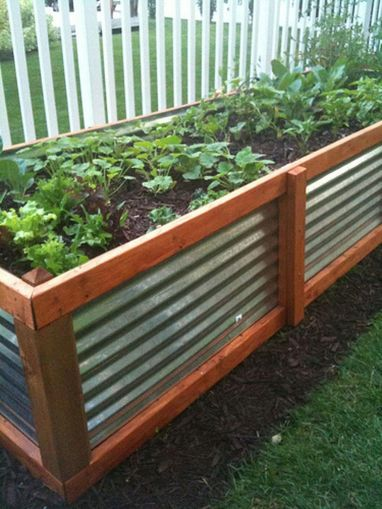 Affordable backyard vegetable garden designs ideas 59