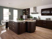 Amazing cream and dark wood kitchens ideas 20