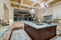Amazing cream and dark wood kitchens ideas 21