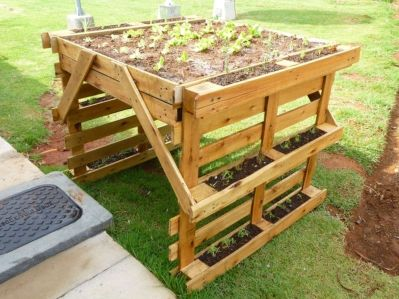 Amazing wooden garden planters ideas you should try 03