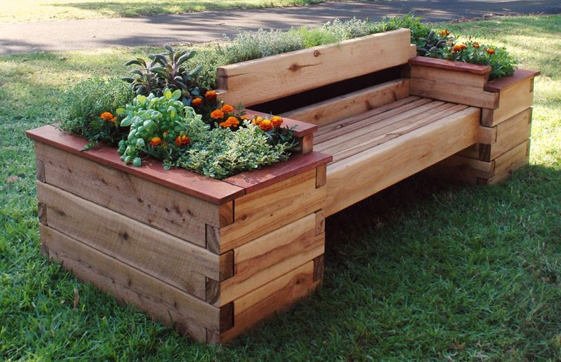 Amazing wooden garden planters ideas you should try 09