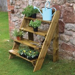 Amazing wooden garden planters ideas you should try 22