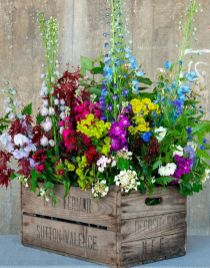 Beautiful flower garden decor ideas everybody will love 46