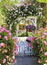 Beautiful flower garden decor ideas everybody will love 49