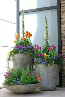 Beautiful flower garden decor ideas everybody will love 51