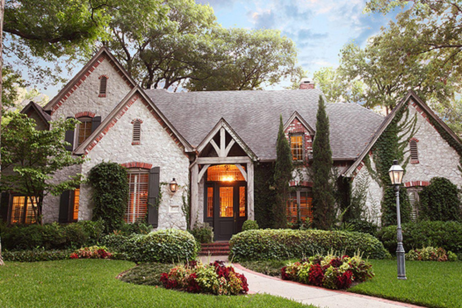 Beautiful french cottage garden design ideas 01