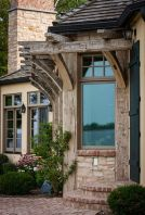 Beautiful french cottage garden design ideas 63