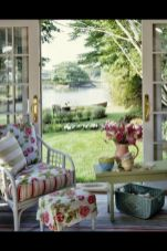 Beautiful french cottage garden design ideas 64