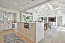 Beautiful hampton style kitchen designs ideas 02