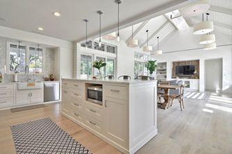 Beautiful hampton style kitchen designs ideas 02