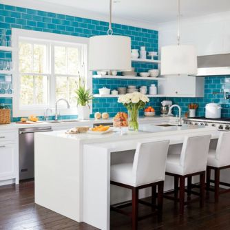 Beautiful hampton style kitchen designs ideas 03