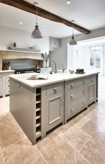 Beautiful hampton style kitchen designs ideas 04