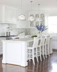 Beautiful hampton style kitchen designs ideas 15