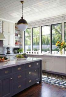 Beautiful hampton style kitchen designs ideas 22