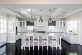 Beautiful hampton style kitchen designs ideas 27