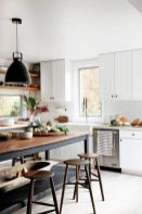 Beautiful hampton style kitchen designs ideas 46