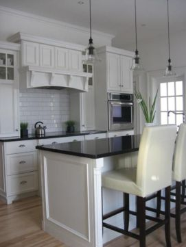 Beautiful kitchens ideas with black granite 05
