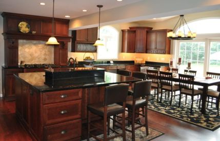 Beautiful kitchens ideas with black granite 08