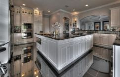 Beautiful kitchens ideas with black granite 09
