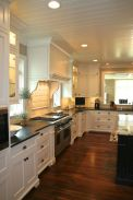 Beautiful kitchens ideas with black granite 16