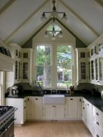 Beautiful kitchens ideas with black granite 22