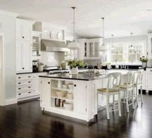 Beautiful kitchens ideas with black granite 23