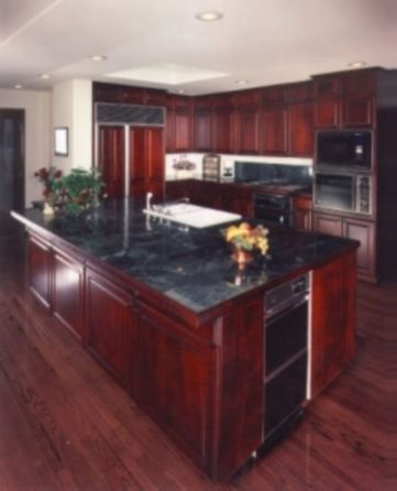 Beautiful kitchens ideas with black granite 32