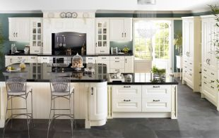 Beautiful kitchens ideas with black granite 34