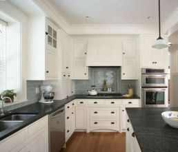 Beautiful kitchens ideas with black granite 40