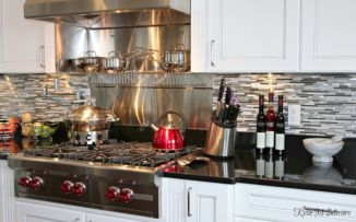 Beautiful kitchens ideas with black granite 43