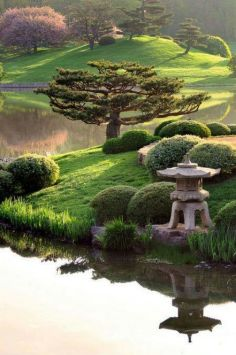 Beautiful modern japanese garden landscape ideas 28