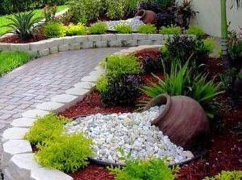 Beautiful modern japanese garden landscape ideas 47