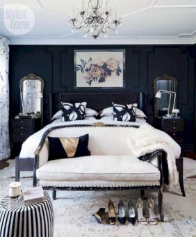 Black and white bedroom furniture 10
