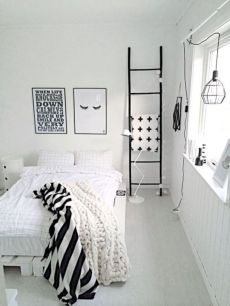 Black and white bedroom furniture 19