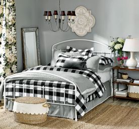 Black and white bedroom furniture 21