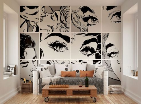 Black and white bedroom furniture 29