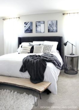 Black and white bedroom furniture 34